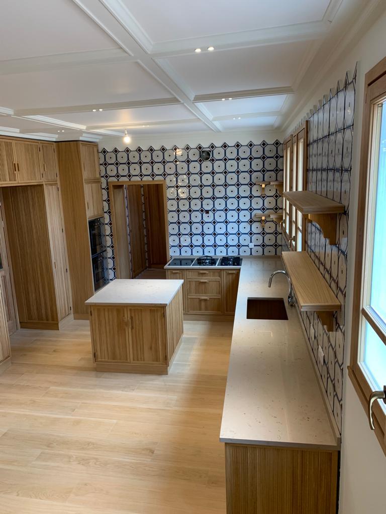 cucine moderne con isola di lusso