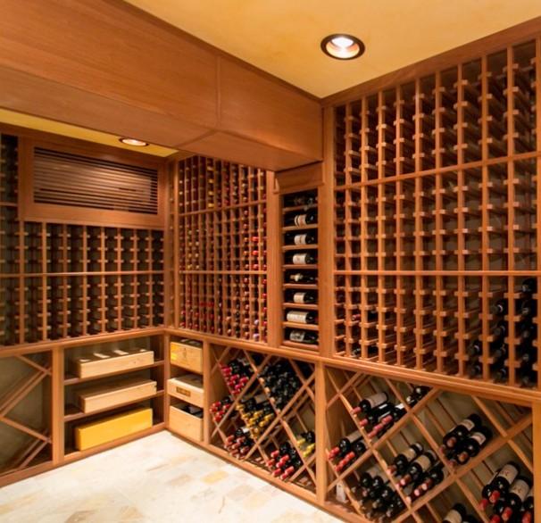 Arredamento cantina vino firenze arredamenti su misura for Arredamento cantina