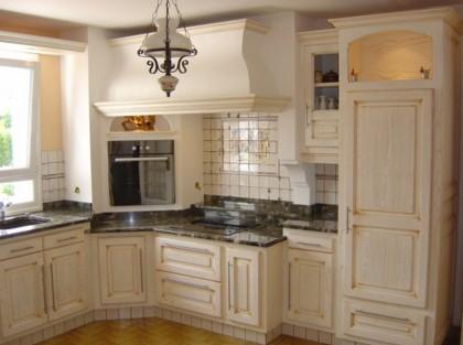 Cucine in legno su misura roma - Peinture pour meubles de cuisine en bois verni ...