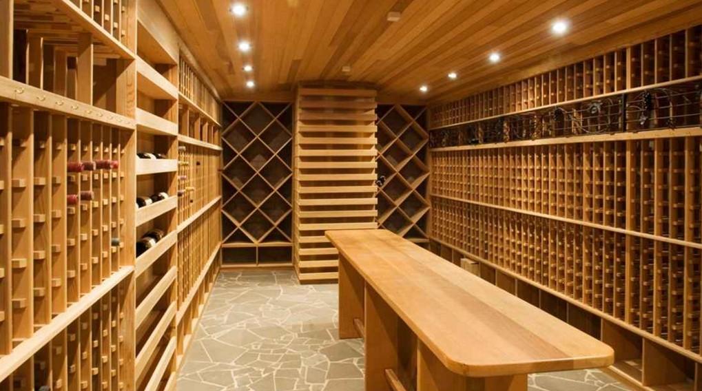 arredare una cantina per il vino ESCAPE='HTML'
