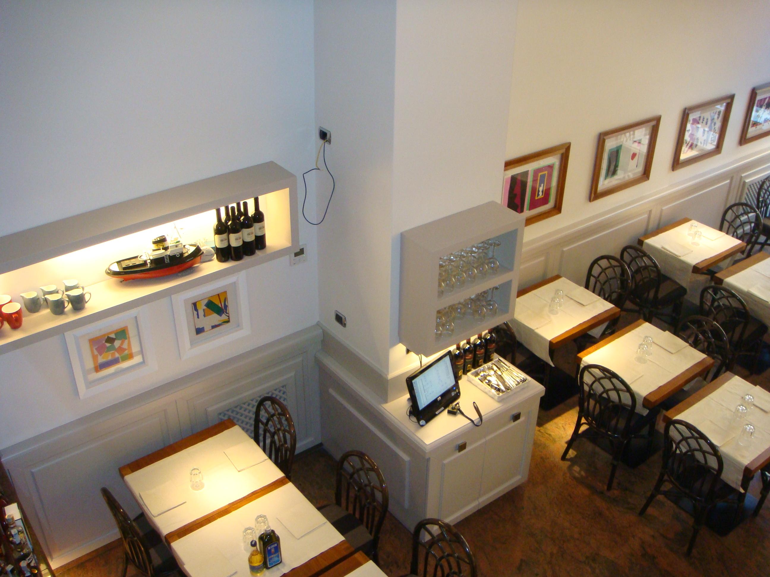 boiserie bassa per ristorante roma ESCAPE='HTML'
