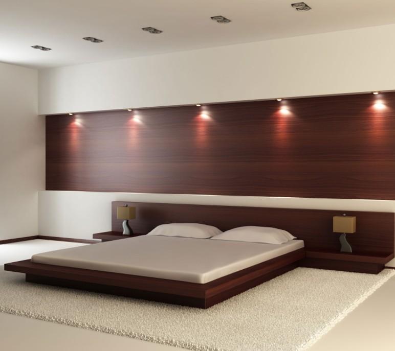 Boiserie moderne camera da letto