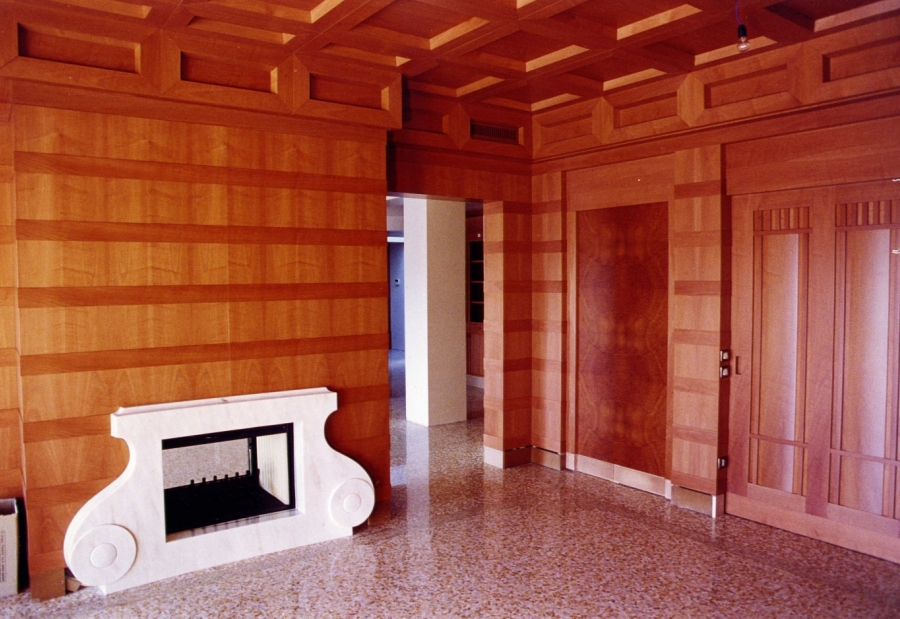Boiserie in legno