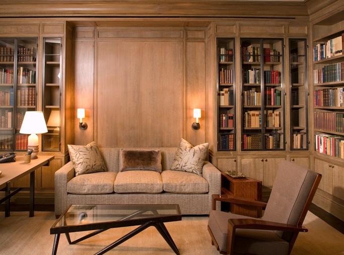 arredamenti in legno su misura soggiorno