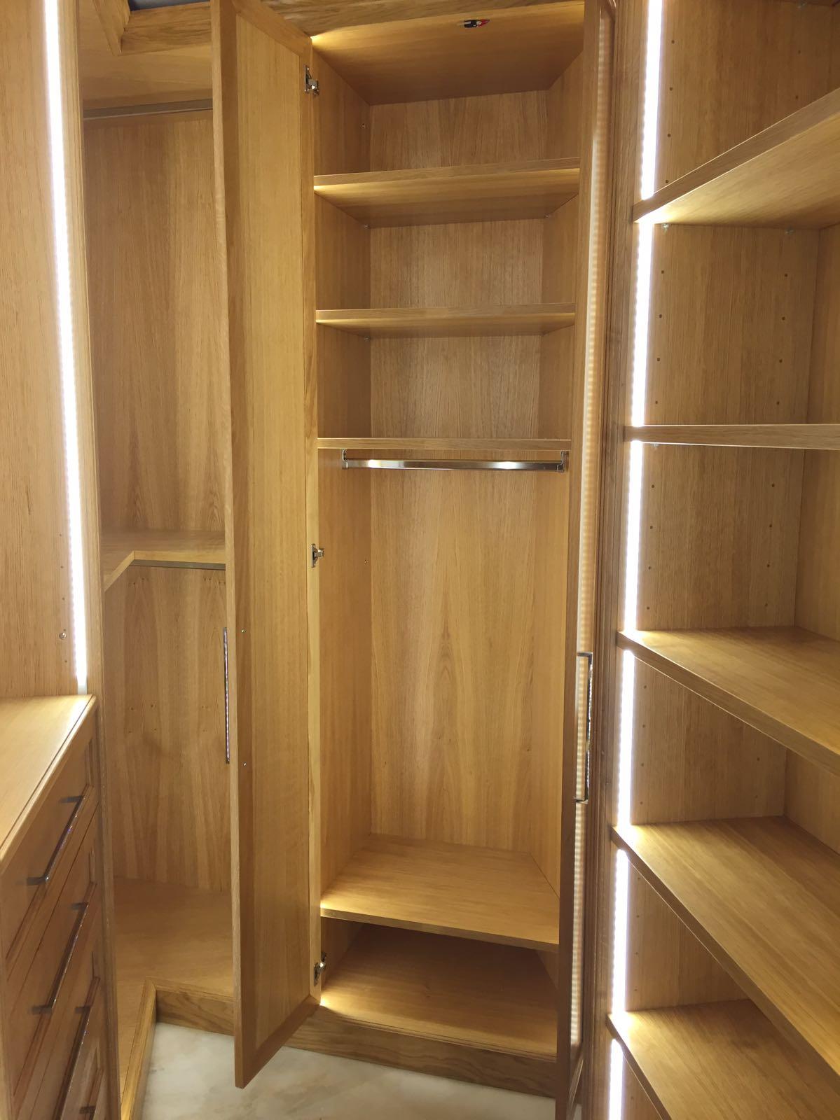cabine armadio in legno lugano