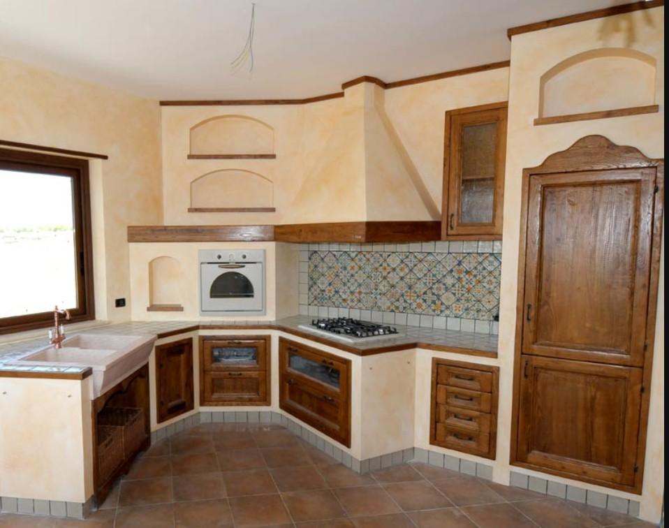 cucine classiche in muratura