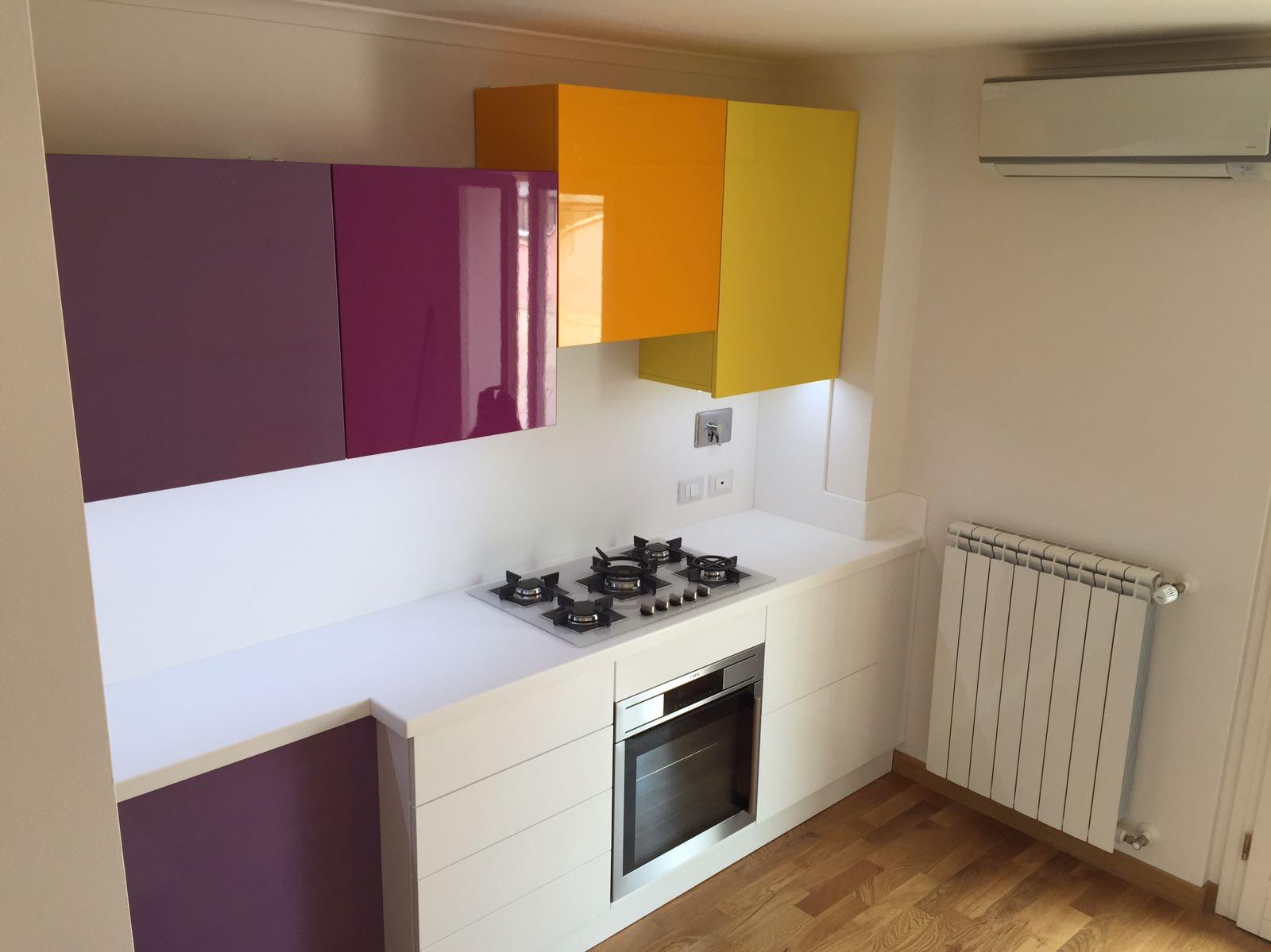 Falegnamerie artigianali cucine su misura per piccoli spazi - Cucine piccoli spazi ...