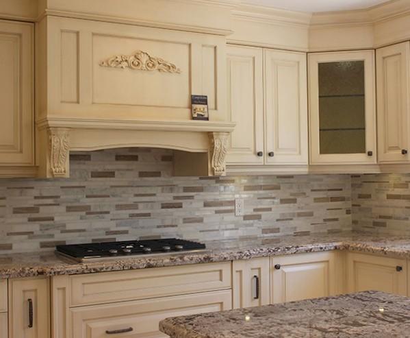 Cucine in legno su misura padova falegnameria padova - Cucine classiche bianche ...