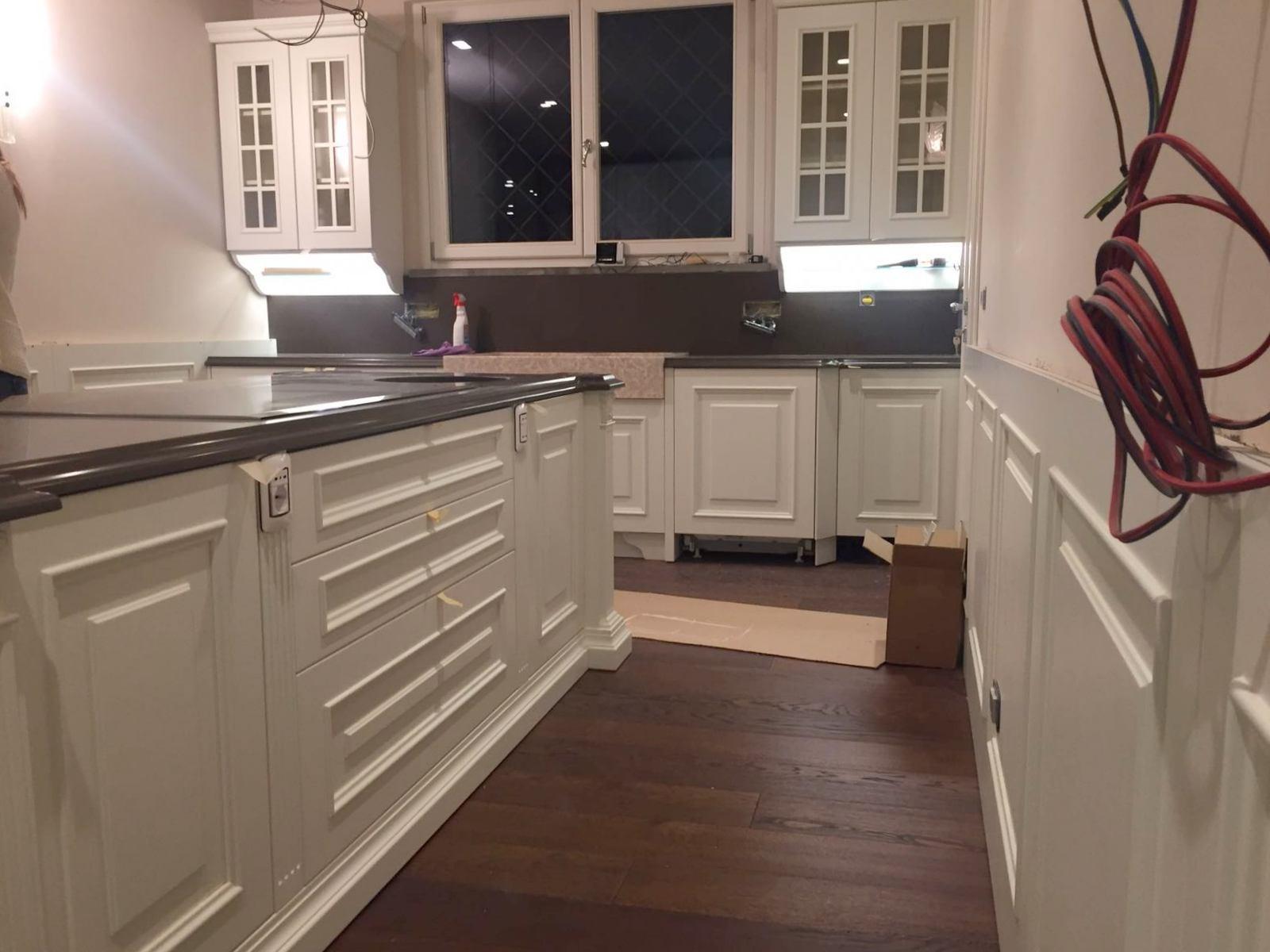 Legno Laccato Su Misura cucine su misura in legno laccato bianco