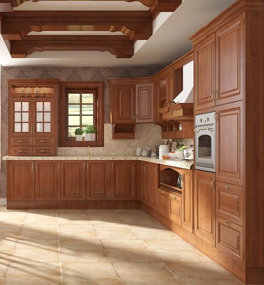 cucine in legno massiccio