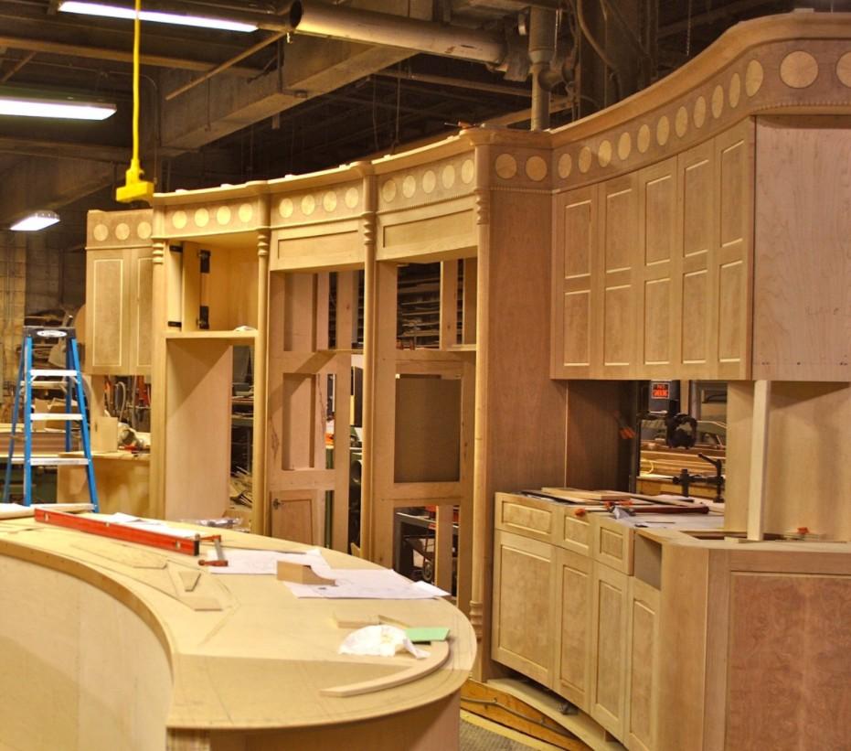 produzione boiserie in legno