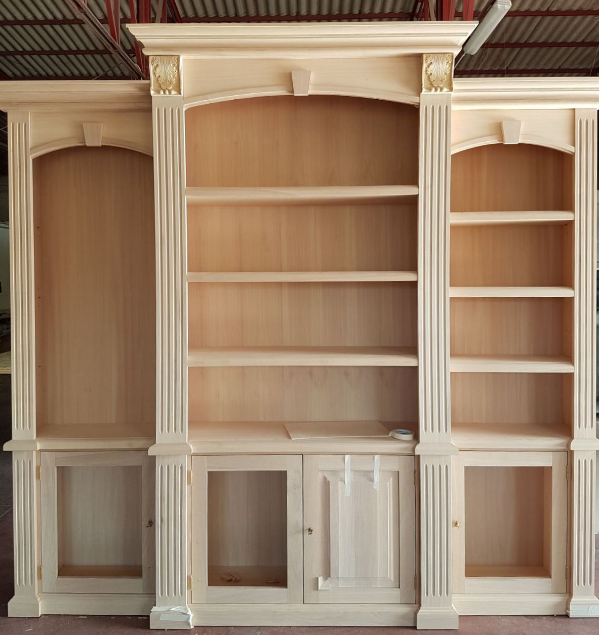 mobile a libreria per studio roma