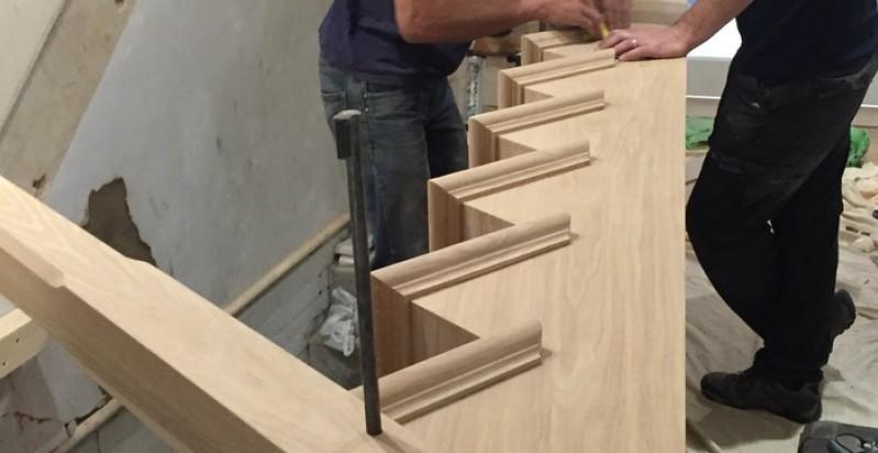 Lavorazioni scale in legno roma