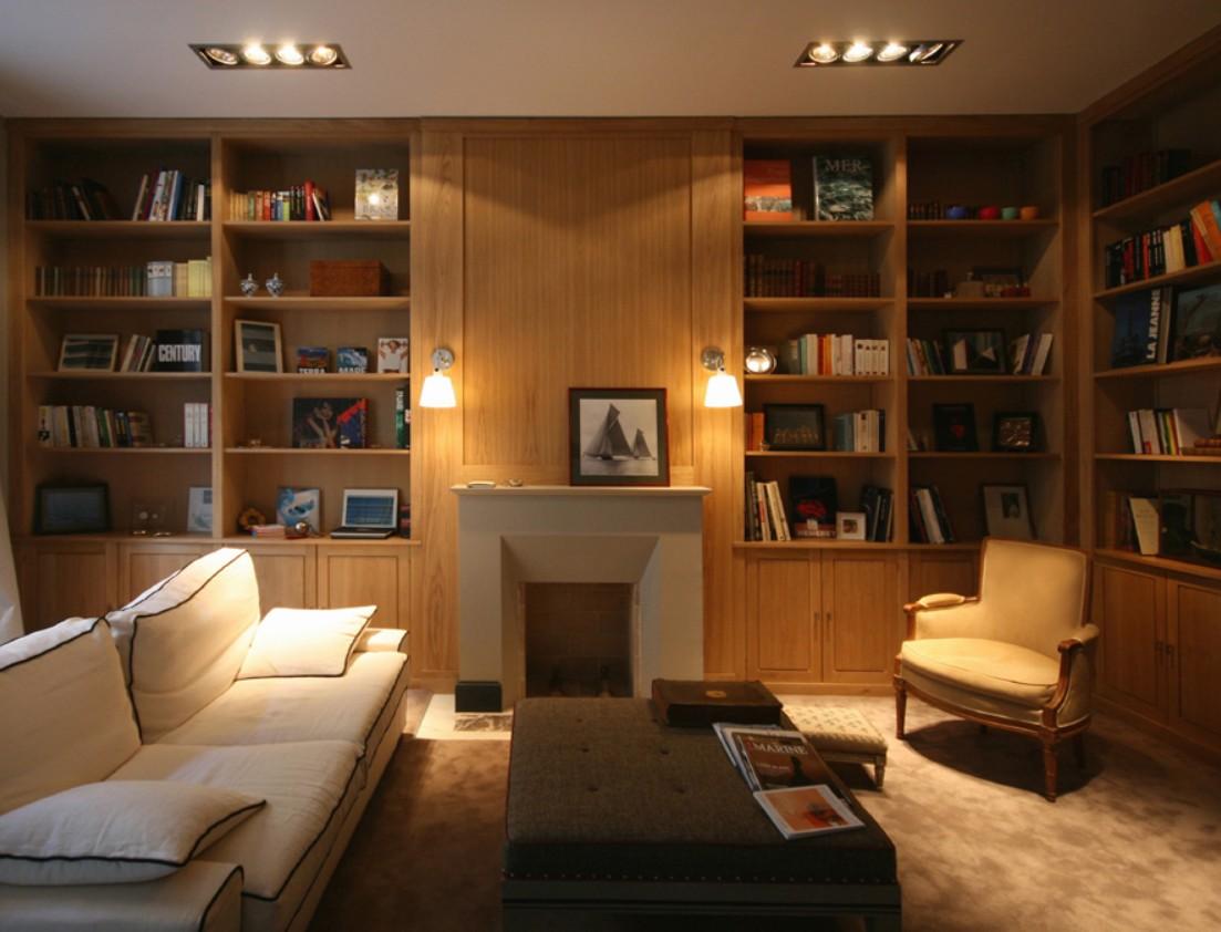 librerie in legno su msura