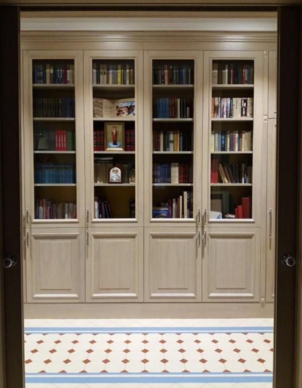 librerie su misura Laccate