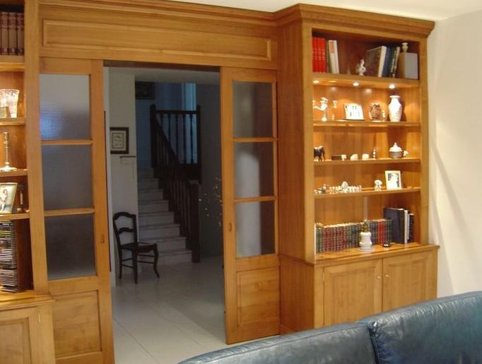 librerie con porta scorrevole roma