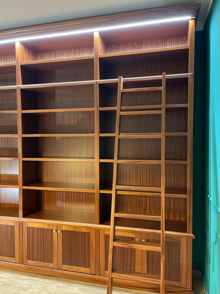 librerie in mogano