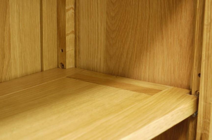 librerie su misura legno ripiano solidi