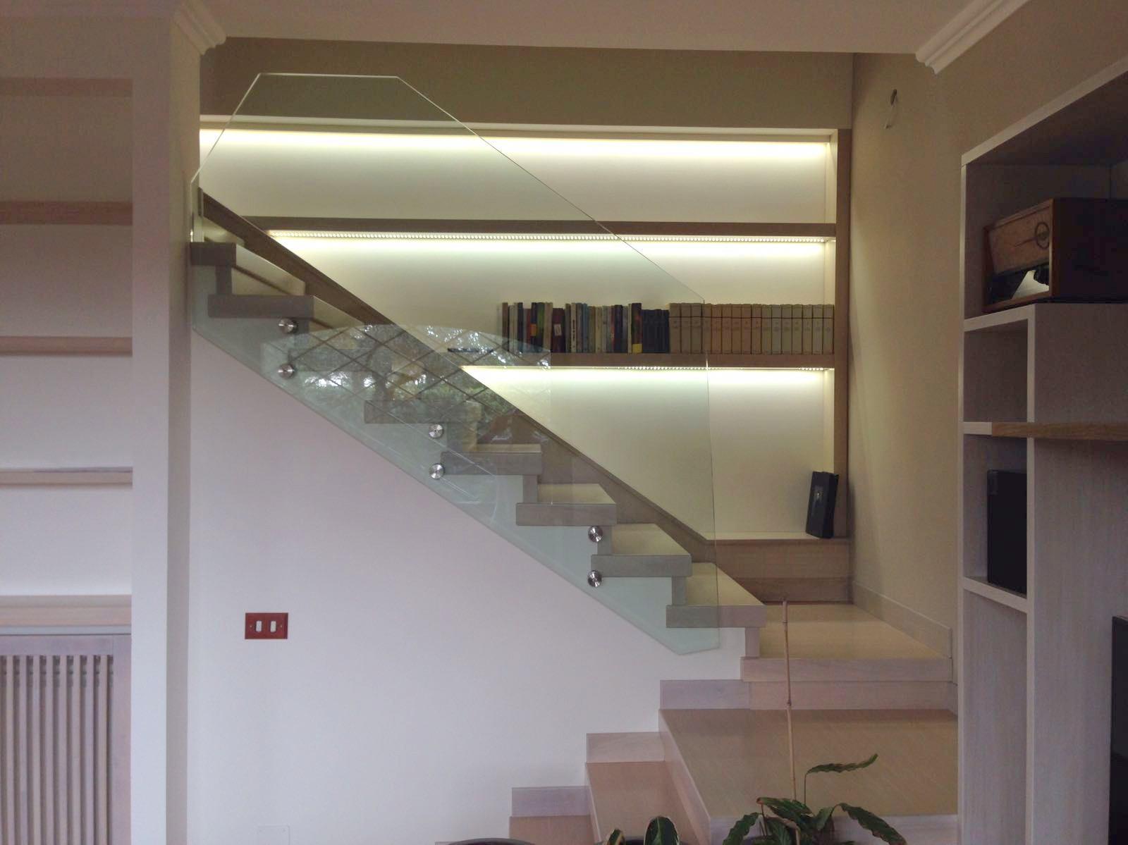 librerie per vano scale Roma ESCAPE='HTML'