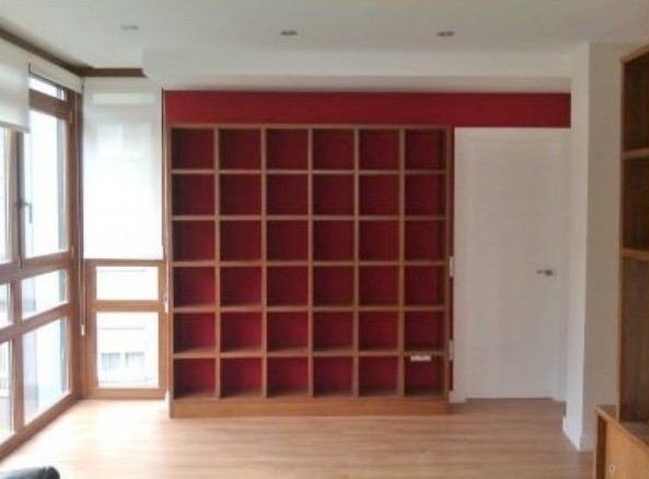 librerie in legno su misura giorno