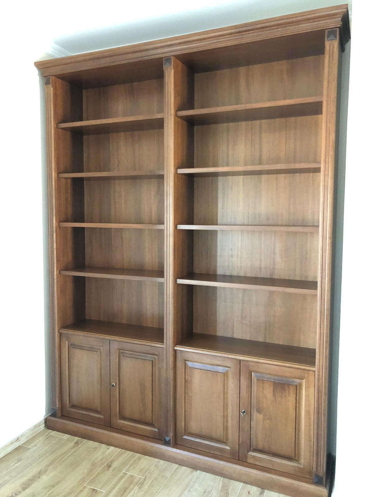 librerie a muro in legno ESCAPE='HTML'