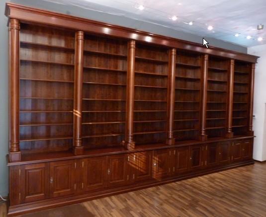 Librerie in legno roma for Librerie classiche mondo convenienza