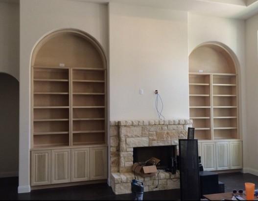 Librerie su misura ad arco
