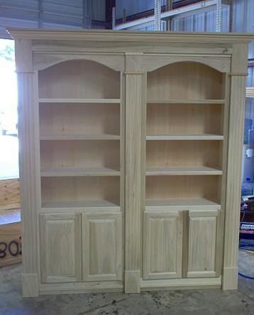 librerie in legno massello