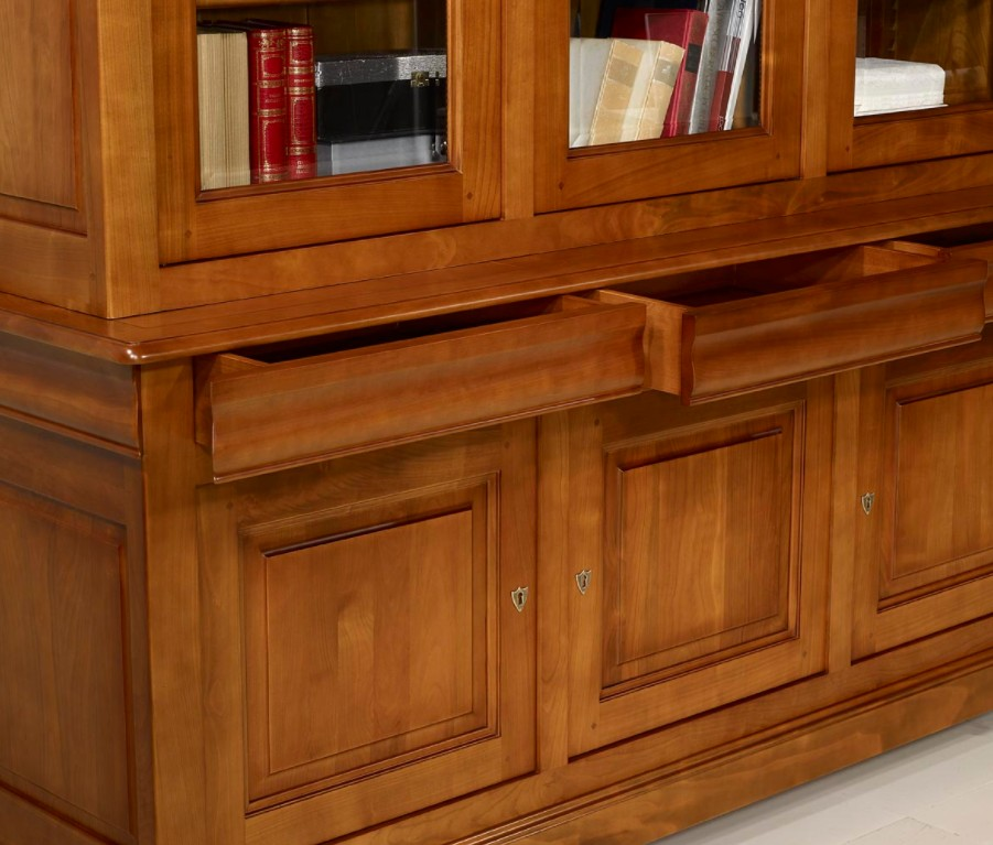 librerie su misura in legno