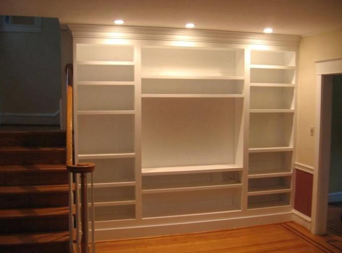 Libreriein legno laccato su misura ESCAPE='HTML'