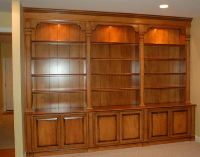 librerie di legno a misura