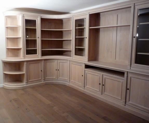 Librerie su misura ad angolo