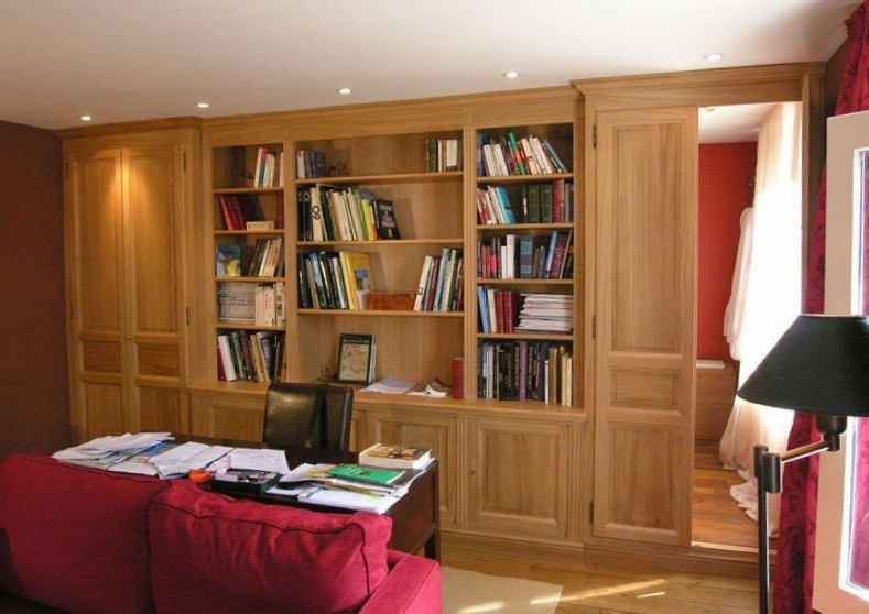 Librerie classiche in rovere