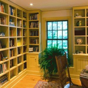 librerie legno su misura roma