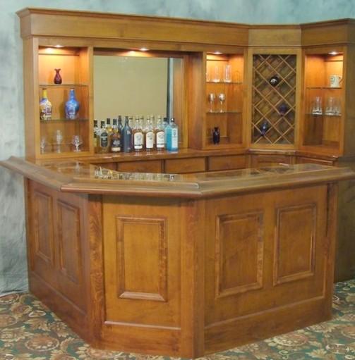 Mobili per angolo bar recupero banco da lavoro tavoli da - Mobili bar casa ...
