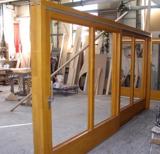 Falegnameria porte scorrevoli in legno roma