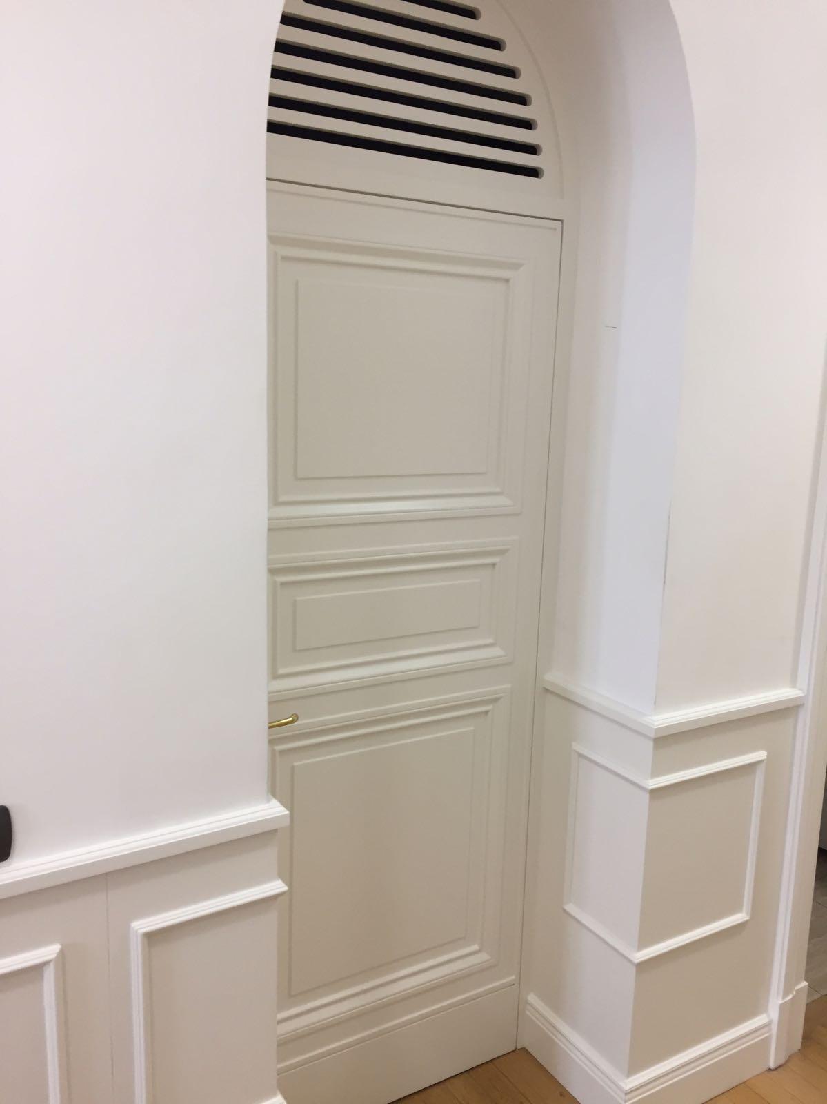 porte artigianali bianche Milano