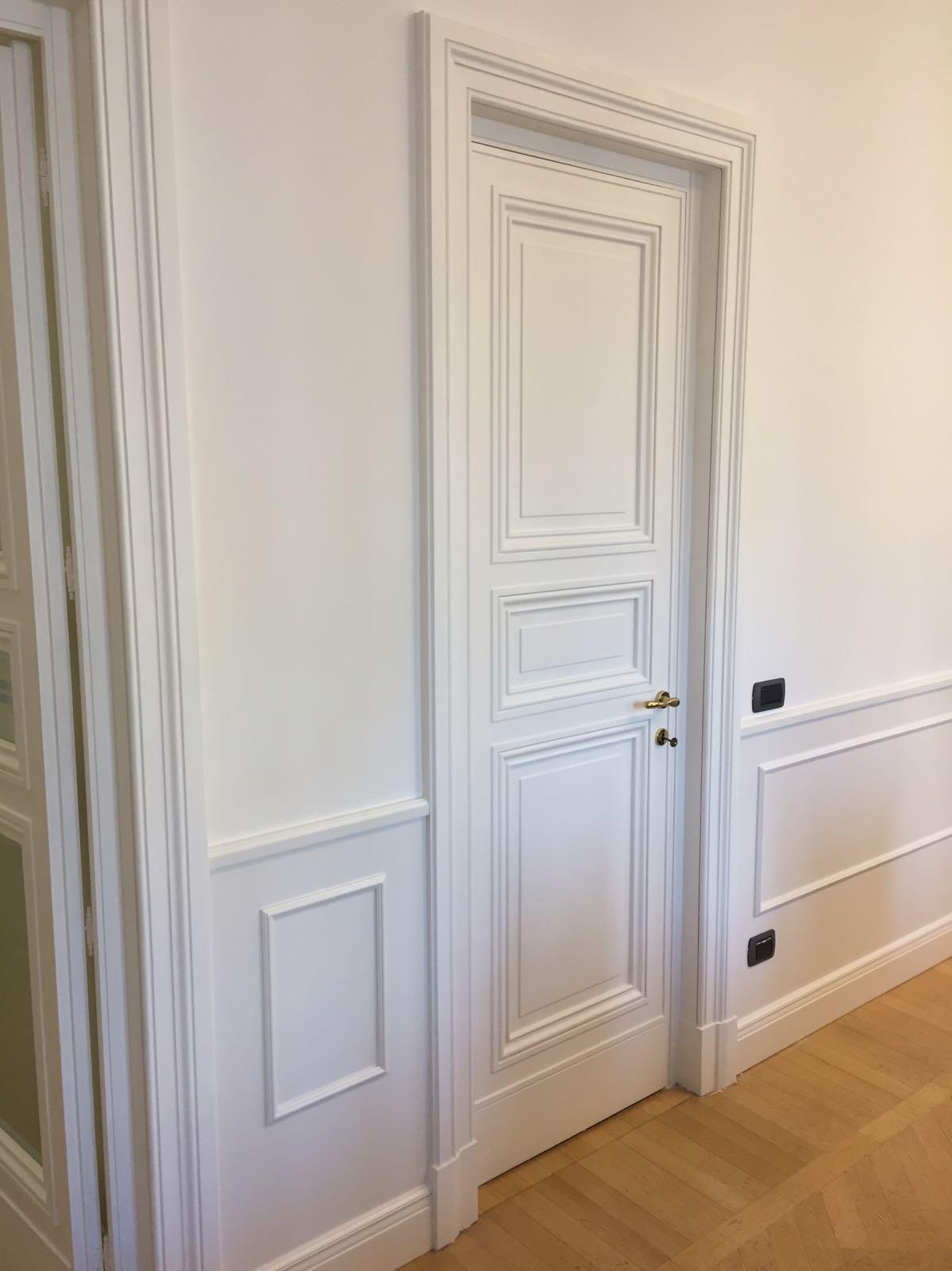 porte laccare bianche Firenze