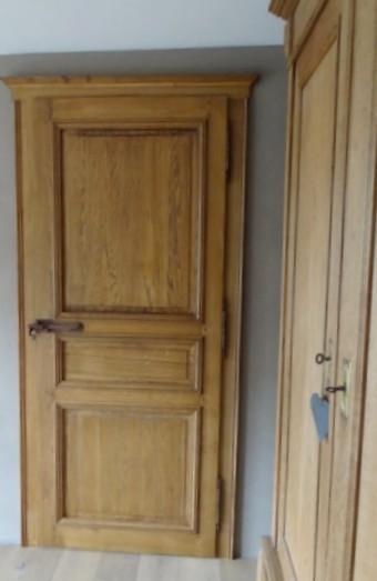 Porte artigianali in legno rovere Roma