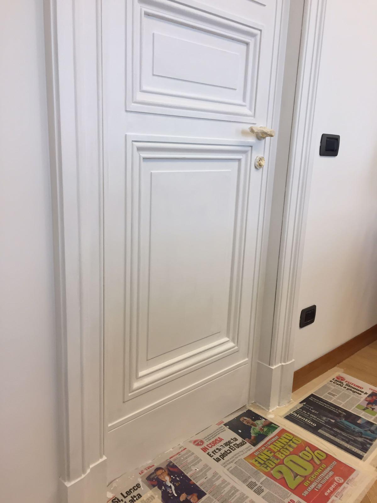 Verniciare Porte Interne Bianche arredamenti su misura puglia: 2019