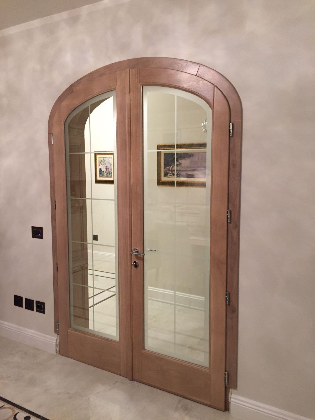 porte artigianali legno vetro ESCAPE='HTML'