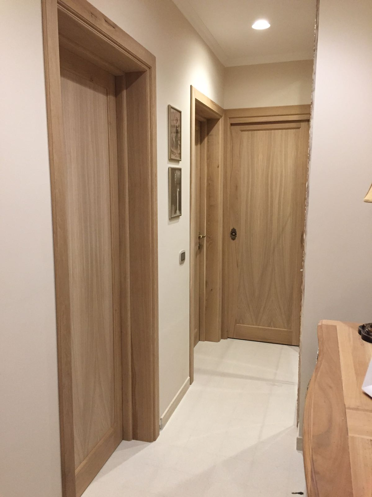 porte interne in legno Rovere Firenze