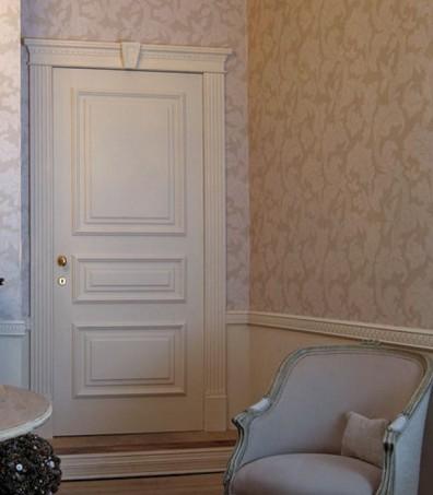 Porte interne classiche laccate Roma