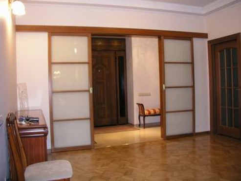 porte interne scorrevoli legno vetro roma