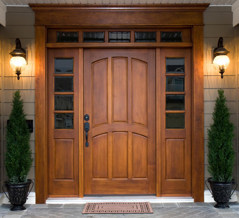 portoni ingresso in legno