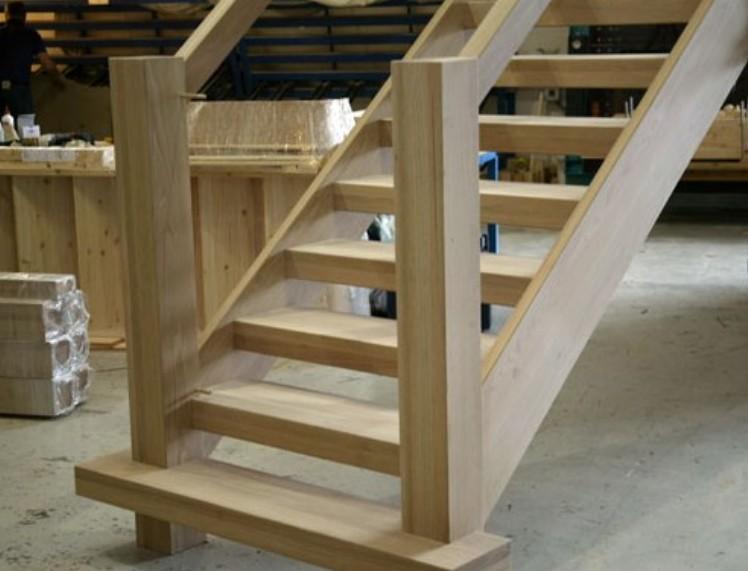 costruire una scala in legno per soppalco