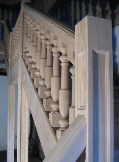 Produzione di scale in legno Roma ESCAPE='HTML'