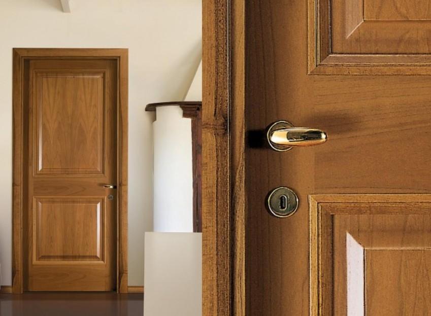 Porte interne in legno su misura Milano
