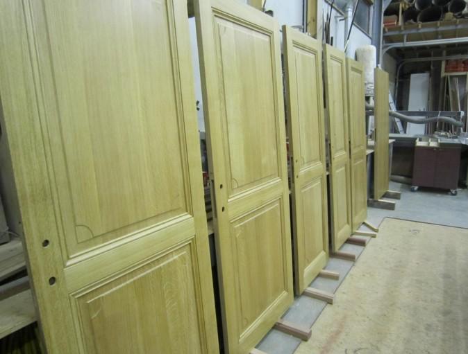 Produzione porte in legno Roma