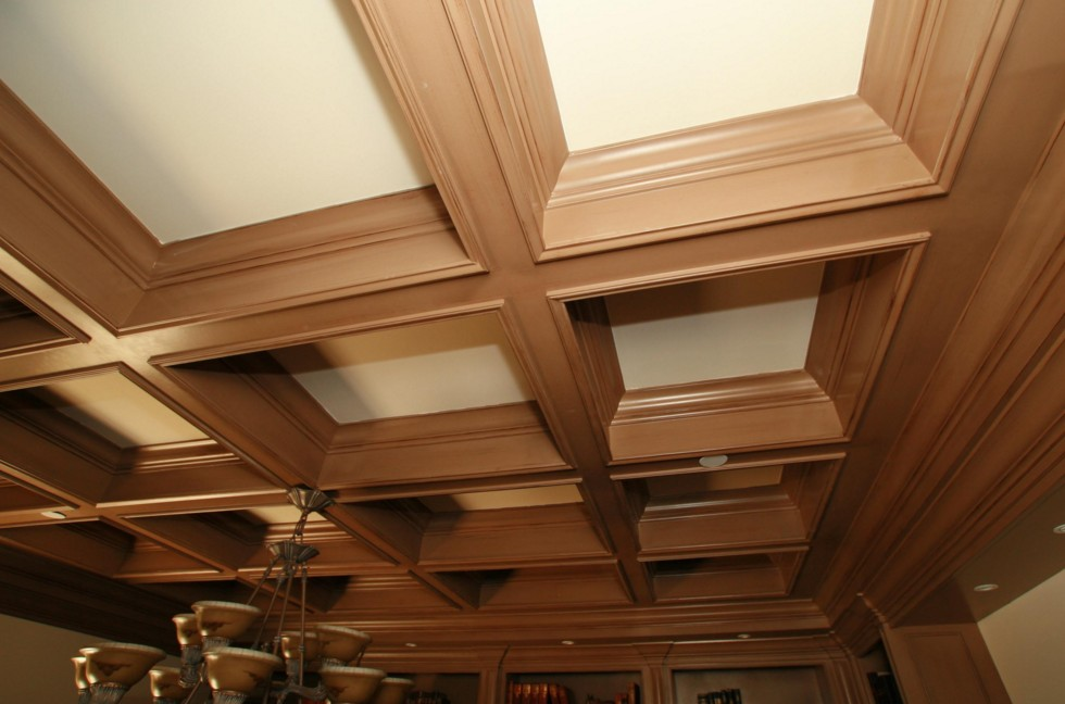 produzione soffitti a cassettoni roma